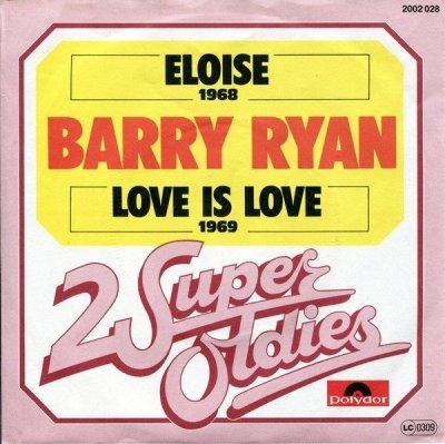 Barry Ryan - Eloise / Love Is Love (7)