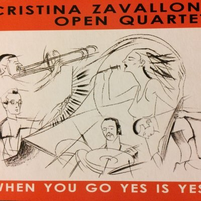 Cristina Zavalloni Open Quartet - When You Go Yes Is Yes! (CD)