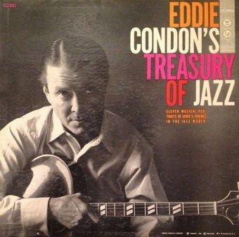 Eddie Condon And His Allstars - Eddie Condon's Treasury Of Jazz (LP)