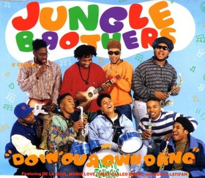 Jungle Brothers Featuring De La Soul, Monie Love, Tribe Called Quest And Queen Latifah - Doin' Our Own Dang (Maxi-CD)