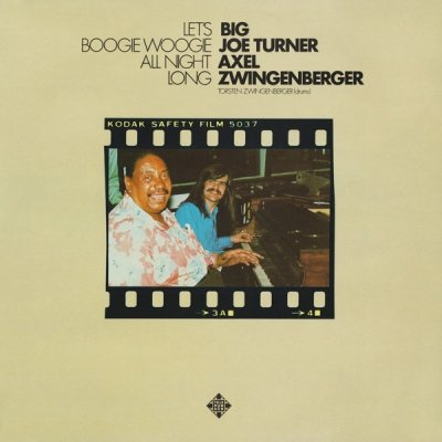 Big Joe Turner / Axel Zwingenberger - Let's Boogie Woogie All Night Long (LP)