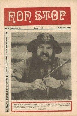 Non Stop 1 (102) Styczeń 1981 Michał Urbaniak