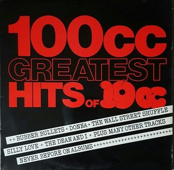 10cc - 100cc - Greatest Hits Of 10cc (LP)