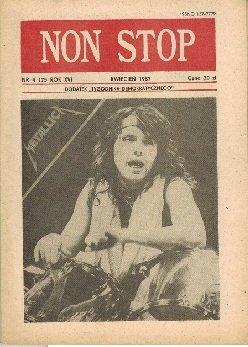 Non Stop 4 (175) Kwiecień 1987 Lars Urlich