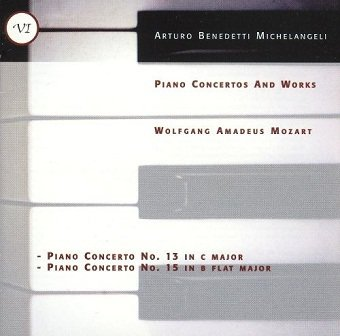 Arturo Benedetti Michelangeli - Mozart Piano Concertos 13/15 (CD)