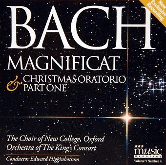 Bach - Magnificat; Christmas Oratorio (Part One) (CD)