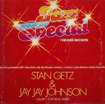 Stan Getz & Jay Jay Johnson - Stan Getz & Jay Jay Johnson (LP)