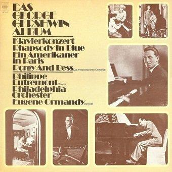 George Gershwin - Philippe Entremont, Philadelphia Orchestra*, Eugene Ormandy - Das George Gershwin Album (2LP)