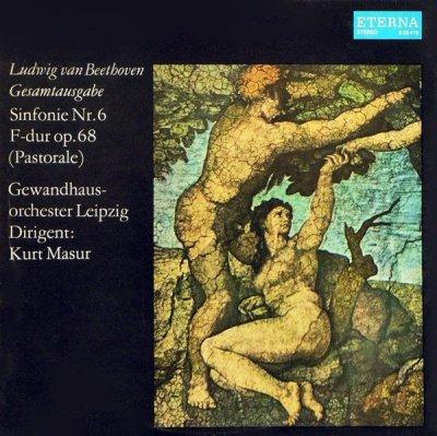Ludwig van Beethoven - Gewandhausorchester Leipzig, Kurt Masur - Sinfonie Nr.6 In F-Dur Op.68 (Pastorale) (LP)