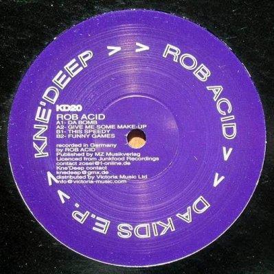 Rob Acid - Da Kids E.P. (12'')