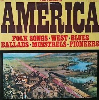 Jack Elliott & Derroll Adams - America (2LP)