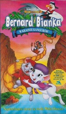 Bernard i Bianka w krainie kangurów (VHS)