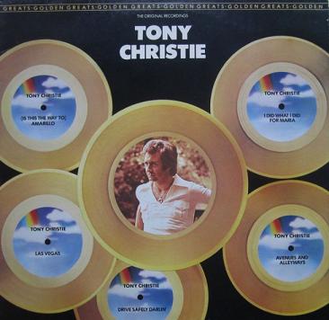 Tony Christie - Golden Greats (LP)