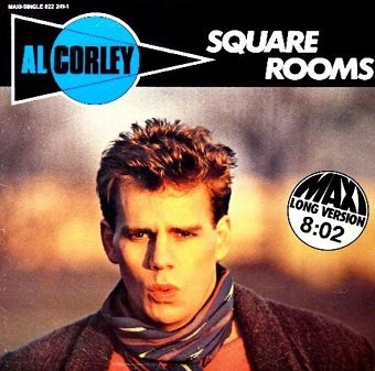 Al Corley - Square Rooms (7'')