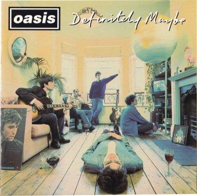 Oasis - Definitely Maybe (CD)