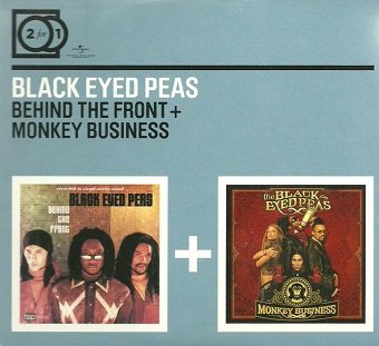Black Eyed Peas - Behind The Front + Monkey Business (2CD)
