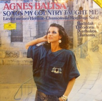 Agnes Baltsa - Songs My Country Taught Me (LP)