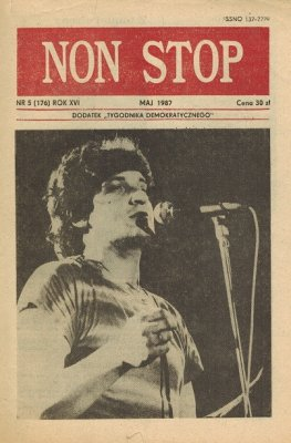 Non Stop 5 (176) Maj 1987 Grzegorz Markowski
