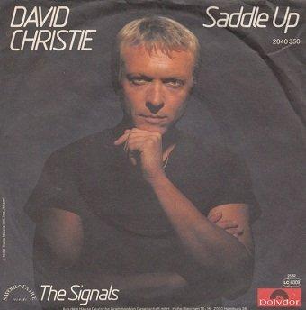 David Christie - Saddle Up (7'')