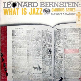 Leonard Bernstein - What Is Jazz? (LP)