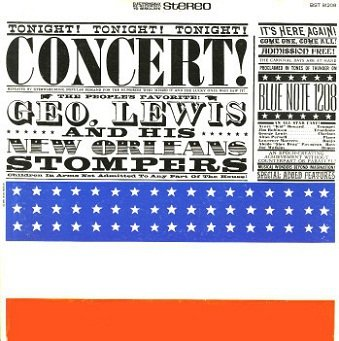 George Lewis And His New Orleans Stompers - Concert (LP)