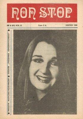 Non Stop 8 (97) Sierpień 1980 Maria Jeżowska