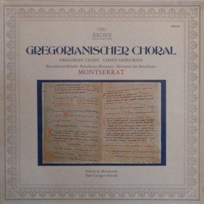 Pater Gregori Estrada And Scola Des Klosters Montserrat - Gregorianischer Choral (LP)