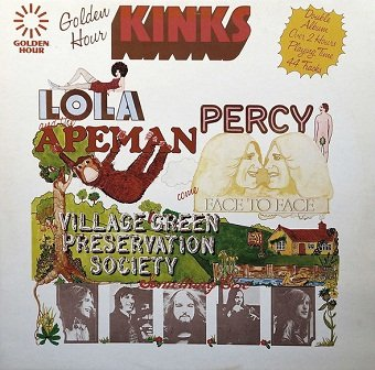 The Kinks - Lola, Percy & The Apemen Come Face To Face With The Village Green Preservation Society... Something Else! (2LP)