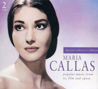 Maria Callas - Popular Music From Tv, Film And Opera (2CD)