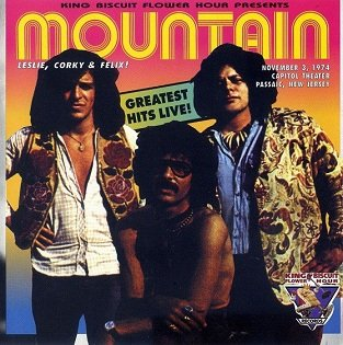 Mountain - Greatest Hits Live! (CD)