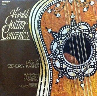 Vivaldi - László Szendrey Karper, Hungarian Chamber Orchestra , Leader: Vilmos Tátrai - Guitar Concertos (LP)