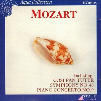 Mozart - Syymphony No. 40, Piano Concerto No. 9 (CD)
