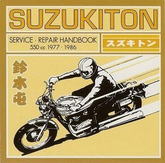 Suzukiton - Service Repair Handbook (CD)