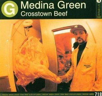 Medina Green - Crosstown Beef (Maxi-CD)