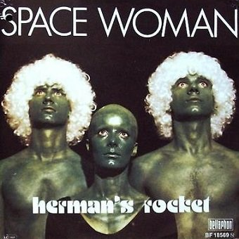 Herman's Rocket - Space Woman (7'')