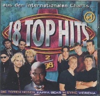 18 Top Hits Aus Den Charts 2/98 (CD)