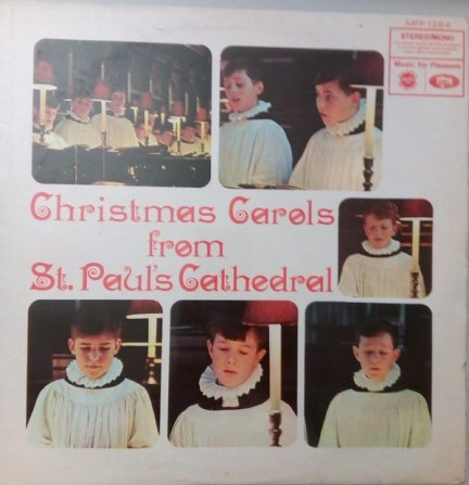 St. Paul's Cathedral Choir - Christmas Carols From St. Paul's Cathedral (LP)