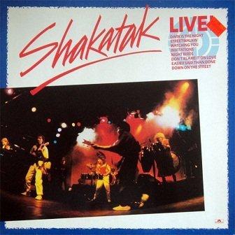 Shakatak - Live! (LP)