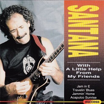 Santana - With A Little Help From My Friends (CD)