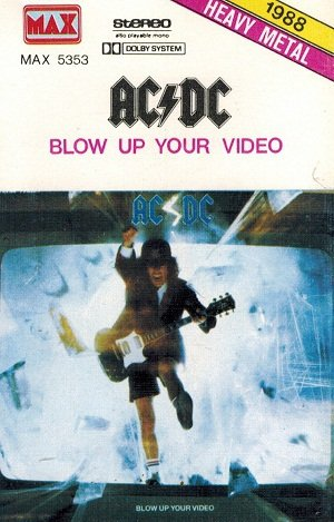 AC/DC - Blow Up Your Video (MC)