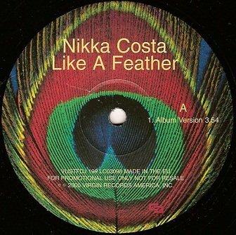 Nikka Costa - Like A Feather (12'')