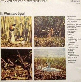 Stimmen der Vögel Mitteleuropas - II. Wasservögel (LP)