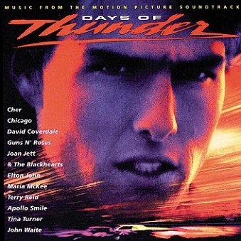 Days Of Thunder (Music From The Motion Picture Soundtrack) (LP)