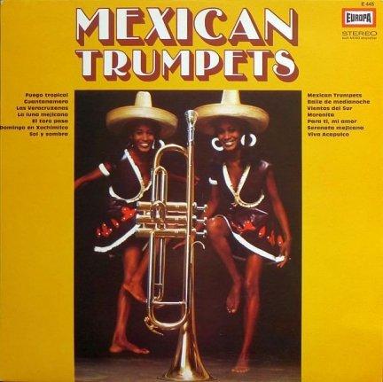 Orchestra de Sandor José y sus Mariachis Mexicanos - Mexican Trumpets (LP)