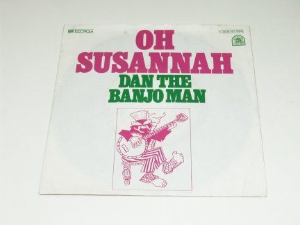 Dan The Banjo Man - Oh Susannah (7'')