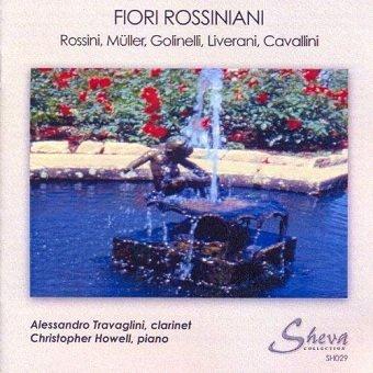 Fiori Rossiniani - Travaglini, Howell (CD)