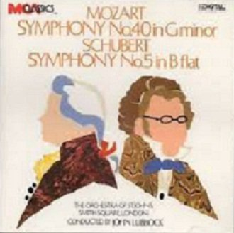 Mozart / Schubert, The Orchestra Of St. John's, Smith Square, London, John Lubbock - Symphony No. 40 In G Minor / Symphony No. 5 In B Flat (CD)