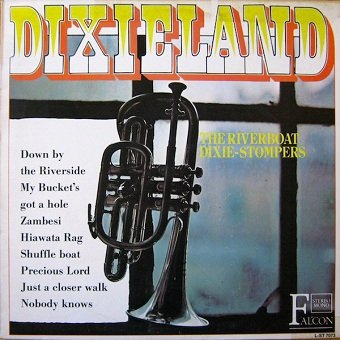 The Riverboat Dixie-Stompers - Dixieland (LP)