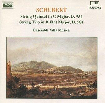 Schubert, Ensemble Villa Musica - String Quintet In C Major, D. 956 / String Trio In B Flat Major, D. 581 (CD)