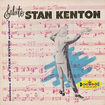Members Of The Stan Kenton Orchestra - Members Of The Stan Kenton Orchestra Salute Stan Kenton (Artistry In Rhythm) (LP)